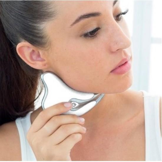 Aparat masaj facial antirid-lifting, stimulare microcirculatie,functie incalzire