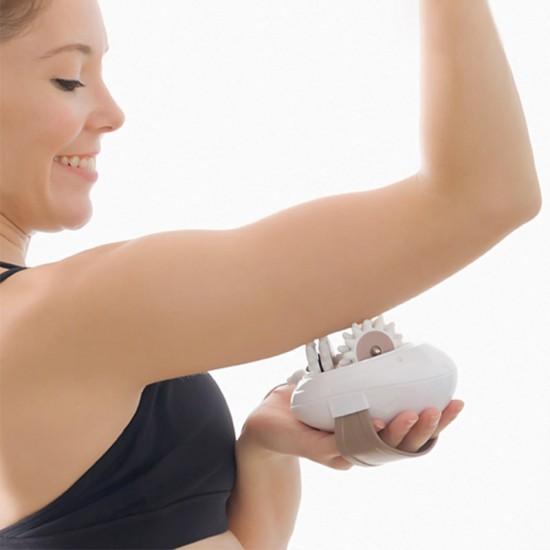 Aparat manual anti-celulitic, pentru modelare corporala