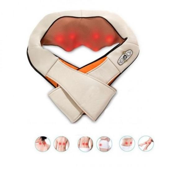 Aparat masaj Neck Massager pentru relaxarea musculaturii si eliminarea durerilor