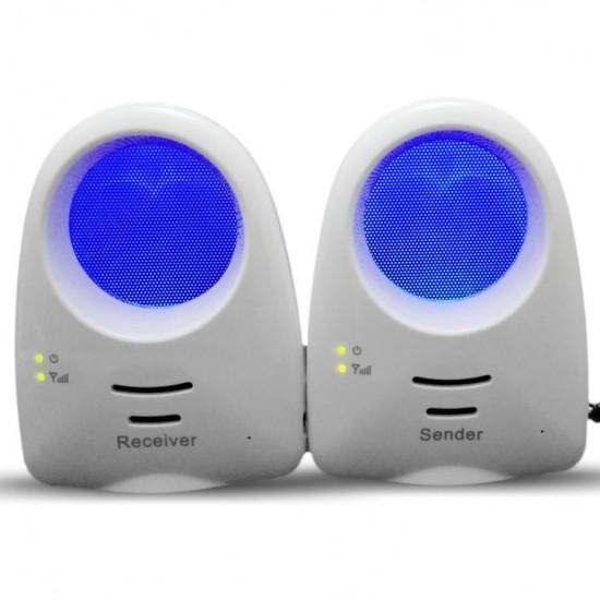 Baby Monitor S100 pentru copii, cu muzică si lumini de noapte