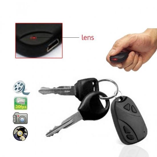 Breloc auto spion cu camera foto/video