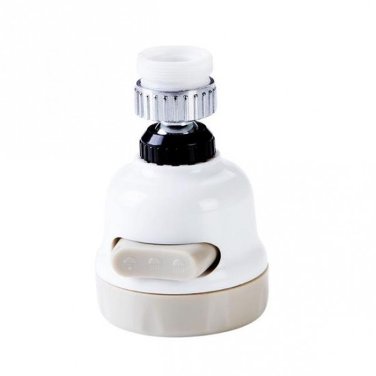 Cap flexibil de robinet, 3 tipuri de jet, functie 360 grade