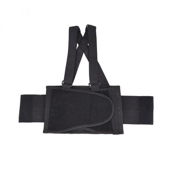 Centura lombara cu bretele, extra-suport pentru lucru
