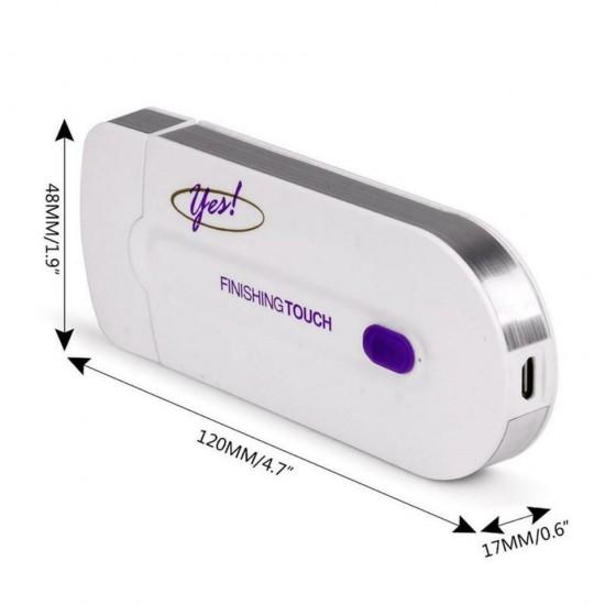 Epilator reincarcabil Finishing Touch, accesorii incluse