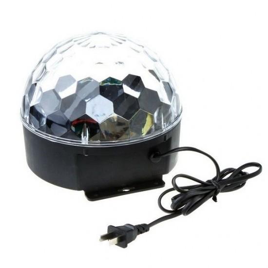 Glob disco cu jocuri de lumini cu MP3 si telecomanda