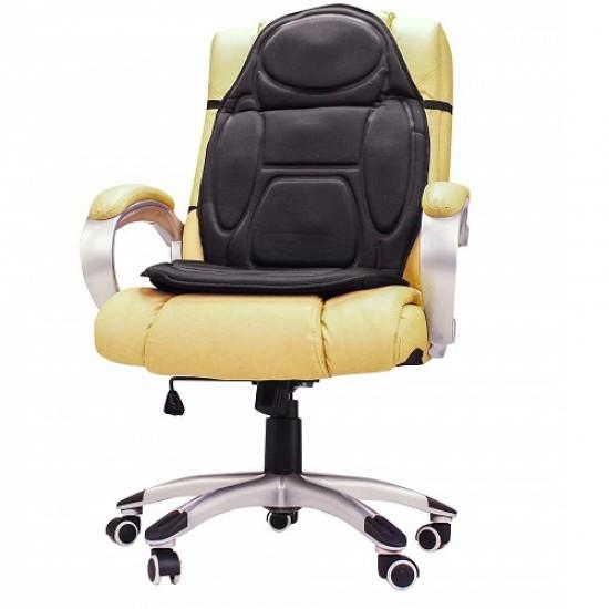 Husa scaun auto sau birou cu incalzire, masaj si control prin telecomanda