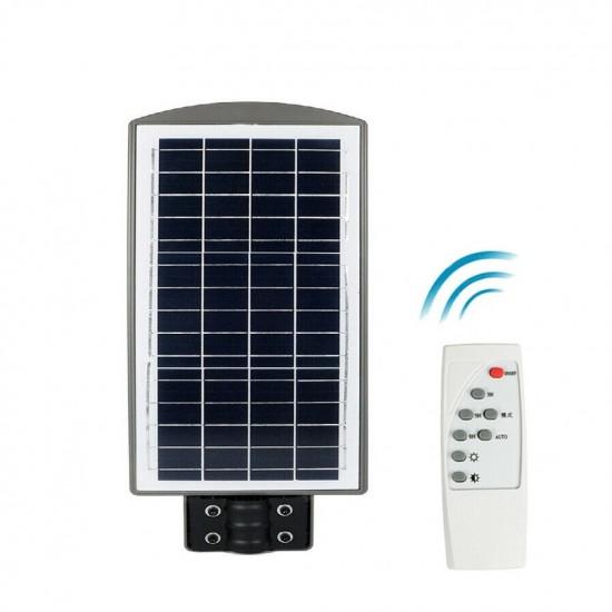 Lampa stradala cu panou solar si senzor de miscare, 40W