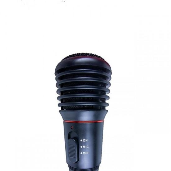 Microfon wireless WG, portabil + 2 baterii