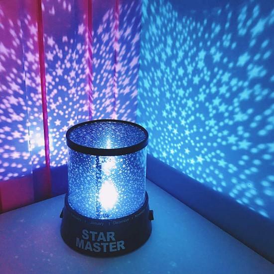 Oferta 1+1 Lampa veghe Star Master, proiector stele