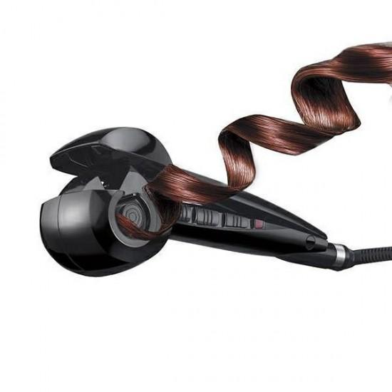 Ondulator Perfect Curl cu 3 setari pentru bucle, temperatura maxima 230°C