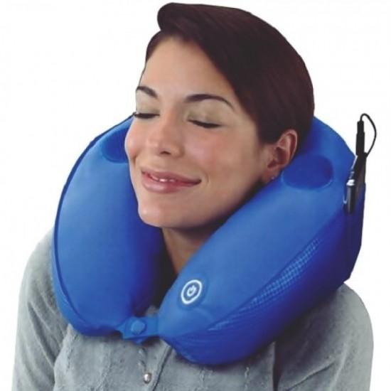 Perna gonflabila cu masaj si functie MP3