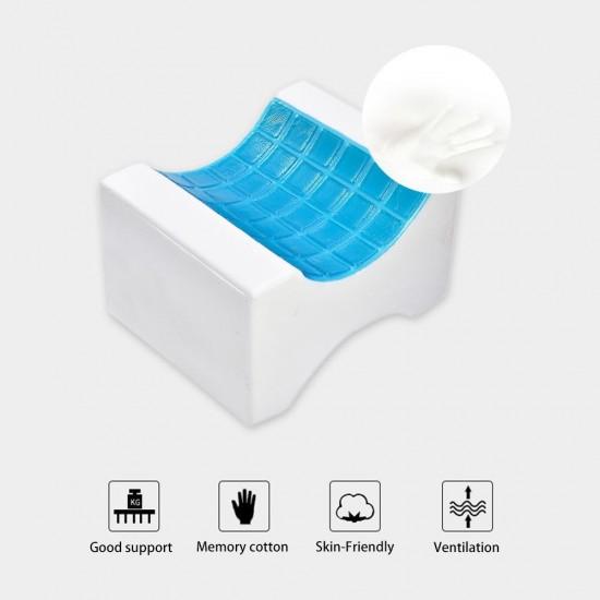 Perna ortopedica pentru picioare, spuma cu memorie  si suprafata gel rece