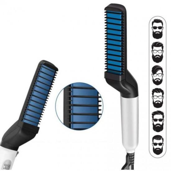 Placa 2 in 1 pentru indreptat si aranjat parul si barba