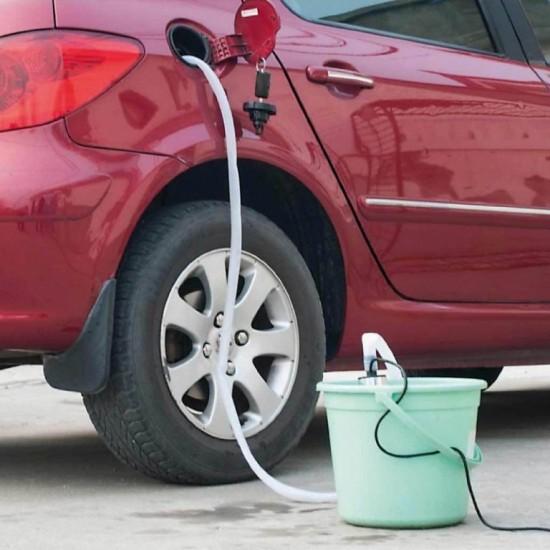 Pompa electrica cu filtru si carcasa din aluminiu pentru transfer lichide, 40W
