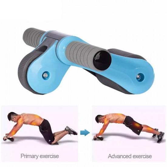 Roata fitness  pentru antrenamentul bratelor si abdomenului